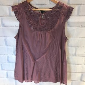 Old Navy lacy blouse